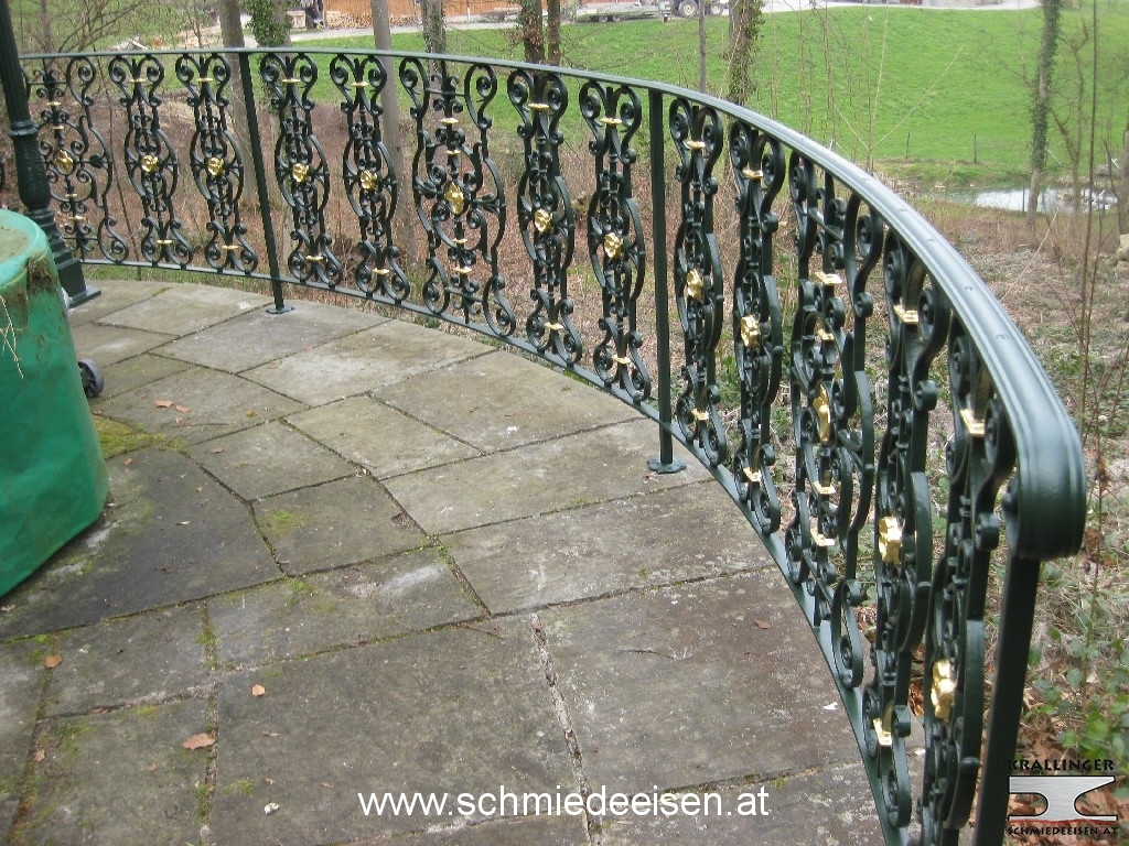 Schmiedeeisen Gartenzaun Zaun Einfriedung Hag